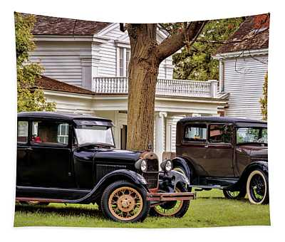 Pair Of Ford Model A  Tapestry
