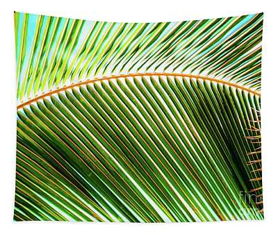 Palm Frond Sway Tapestry