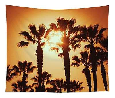 Palm Tree Dreams Tapestry