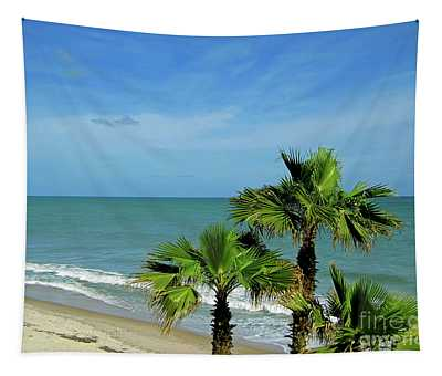 Palms At Vero Beach Tapestry