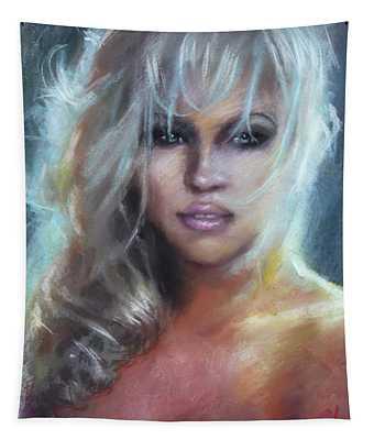Pamela Anderson Tapestry