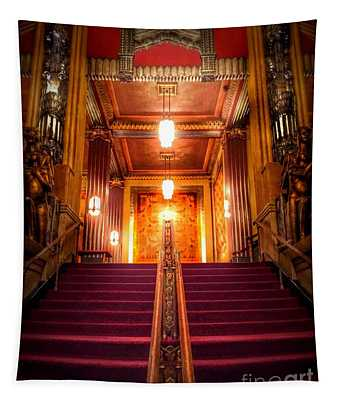 Pantages Theater's Grand Staircase Tapestry