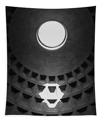 Pantheon Rome Italy Tapestry