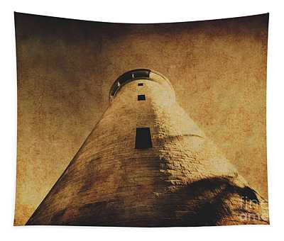 Parchment Paper Lighthouse Tapestry