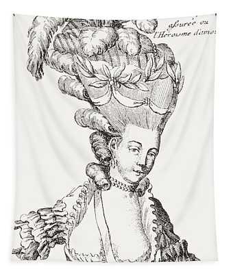 Paris Fashion, 1776 Tapestry
