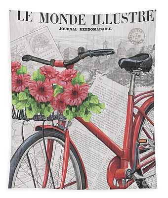 Paris Ride 2 Tapestry