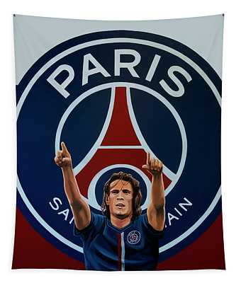 Paris Saint Germain Painting Tapestry