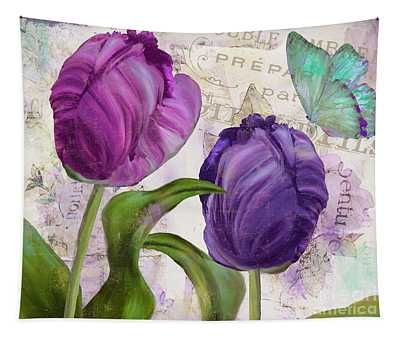 Parrot Tulips Tapestry