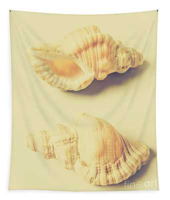 Pastel Seashell Fine Art Tapestry