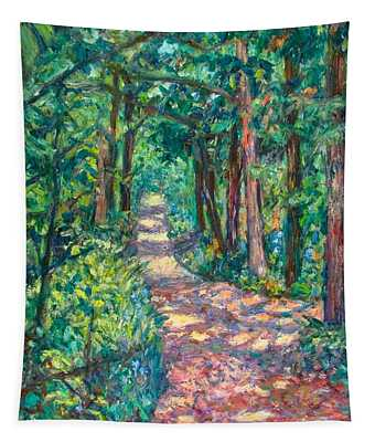 Path On Sharp Top Tapestry
