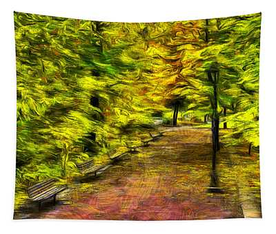 Path Through Fall Tapestry