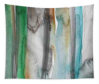 Patina- Abstract Art By Linda Woods Tapestry