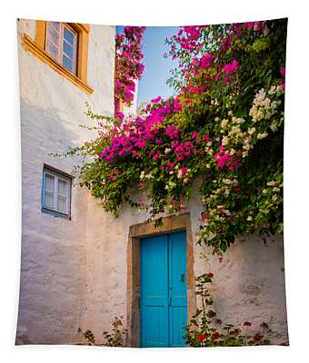 Patmos Bougainvillea Tapestry