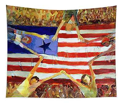 Patriot Act Tapestry