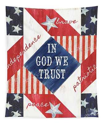 Patriotic Quilt 2 Tapestry