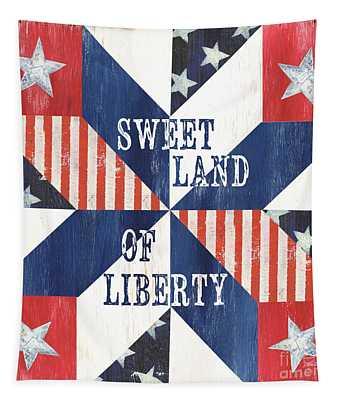 Patriotic Quilt 3 Tapestry