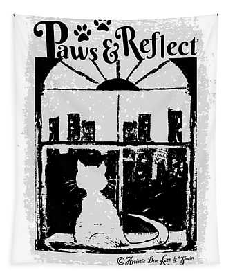 Paws And Reflect Tapestry