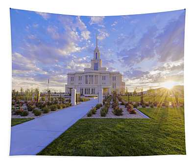 Payson Temple I Tapestry