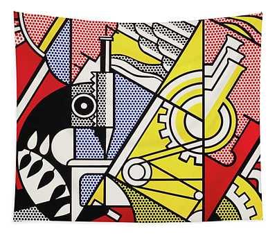 Peace Through Chemistry I - Roy Lichtenstein Tapestry