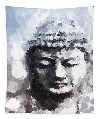 Peaceful Buddha- Art By Linda Woods Tapestry