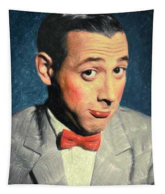Pee-wee Herman Tapestry
