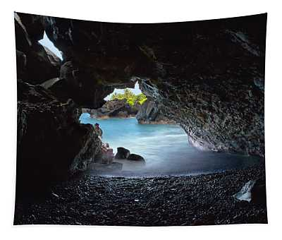 Peeking Through The Lava Tube Tapestry
