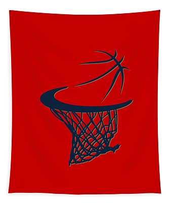 Pelicans Basketball Hoop Tapestry