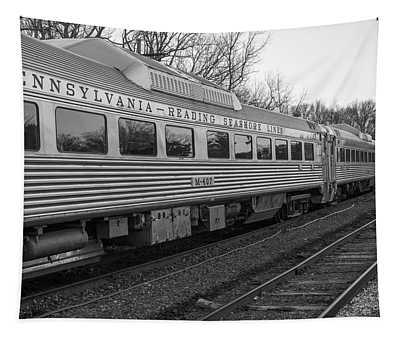 Pennsylvania Reading Seashore Lines Train Tapestry