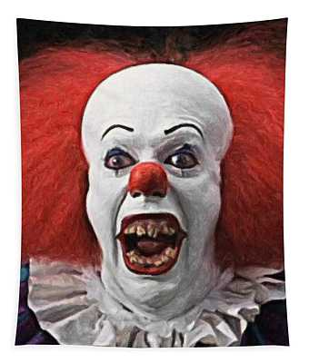 Pennywise The Clown Tapestry