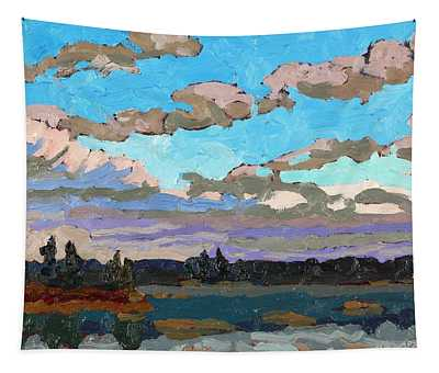 Pensive Clouds Tapestry