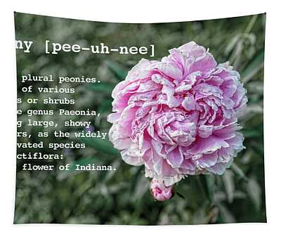 Peony By Definition Tapestry