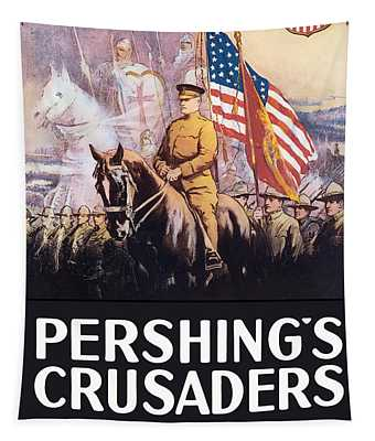 Pershing's Crusaders -- Ww1 Propaganda Tapestry
