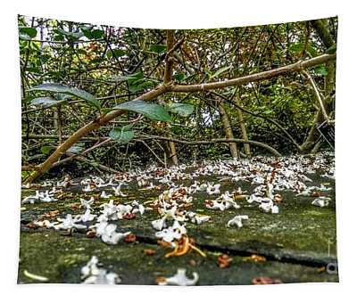 Petal And Stone Tapestry