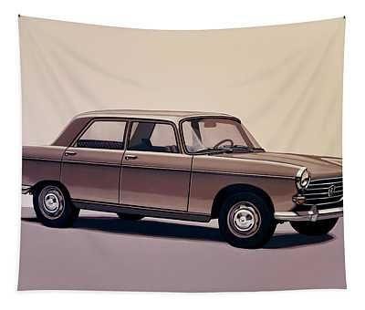 Peugeot 404 1960 Painting Tapestry
