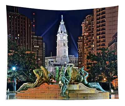 Philadelphia City Hall Tapestry