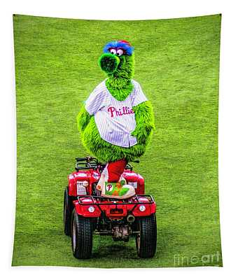 Phillie Phanatic Scooter Tapestry