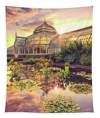 Lilys At Phipps  Tapestry