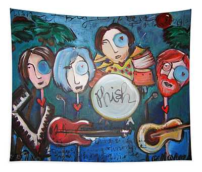 Phish At Big Cypress Tapestry