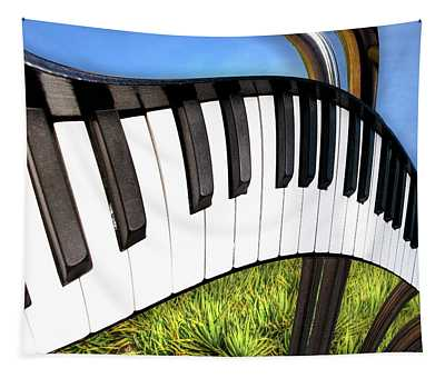 Piano Land Tapestry