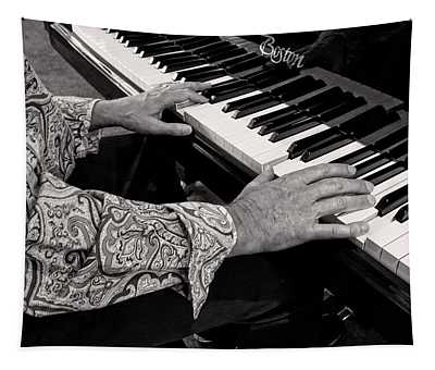 Piano Player 2 Tapestry