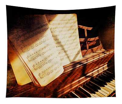 Piano Sheet Music Tapestry