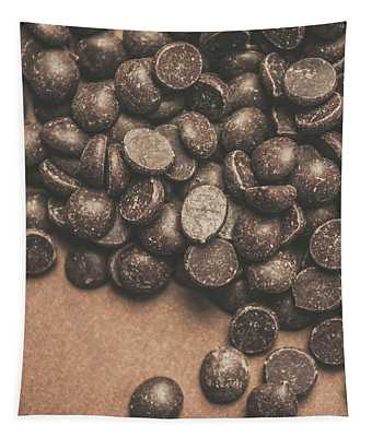 Pile Of Chocolate Chip Chunks Tapestry