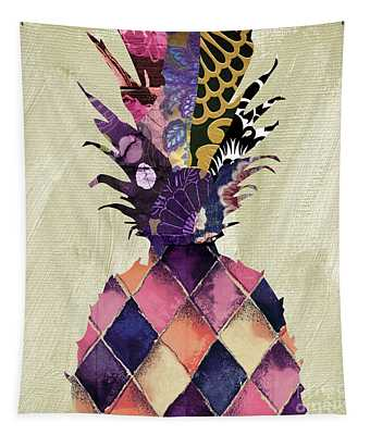 Pineapple Brocade II Tapestry