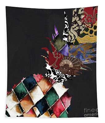 Pineapple Brocade Tapestry