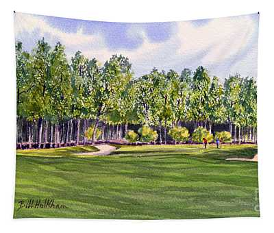 Pinehurst Golf Course 17th Hole Tapestry