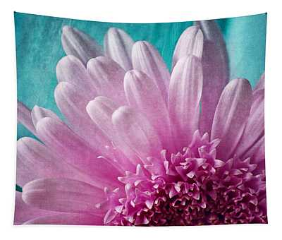 Pink And Aqua Tapestry
