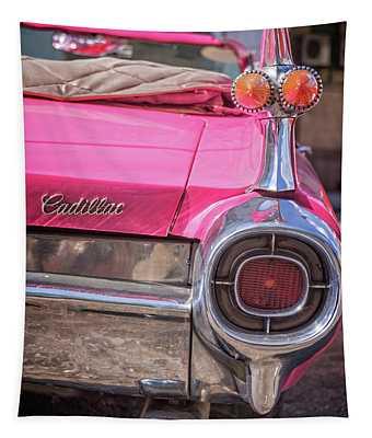 Pink Cadillak Tapestry