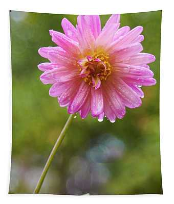 Pink Dahlia 2 Tapestry
