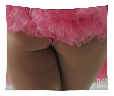 Pink Fanny Tapestry