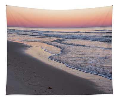 Pink Glow Seaside New Jersey 2017 Tapestry